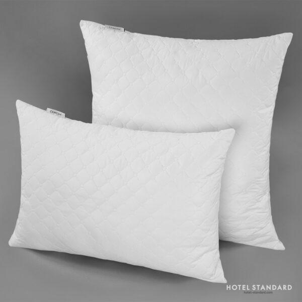 HOTEL-STANDARD Подушка спальная эконом пэ 100%, микрофибра ультрастеп