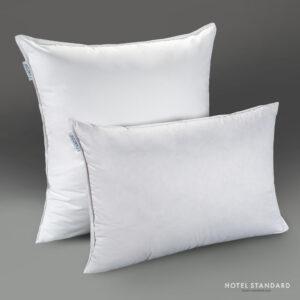 HOTEL-STANDARD Подушка спальная трёхкамерная утиный пух, тик