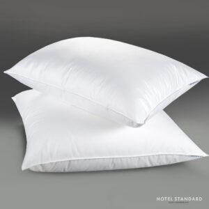 HOTEL-STANDARD Подушка спальная SwanLake (микроволокно), тик